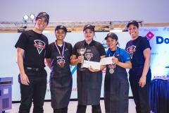 Luis Francisco Rodríguez, Rachel Zabala, Sandrina Vanderhorst, Willy Dania Ramírez y Yleana Mercedes