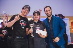 Luis Francisco Rodríguez, Sandrina Vanderhorst y Raeldo López