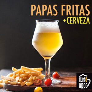 Papas Fristas con Cerveza